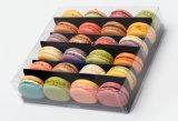 Doos van het Huisdier van de Levering van China de Plastic voor Pakket Macaron
