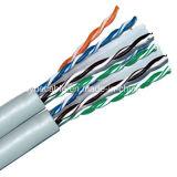 Кабель Lancable напольный CAT6 4X2X0.57/Computer/кабель данных/кабель связи/тональнозвуковые кабель/разъем