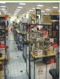 Usine de crémaillère de présentoir d'épicerie de supermarché de fil en métal de chrome de NSF