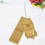 Tag do cair do vestuário do cartão, Tag de papel (KG-PA041)