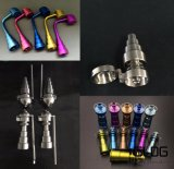 Chiodi di titanio di alta qualità di Domeless colorati titanio reale all'ingrosso del grado 2 con il prezzo di fabbrica