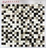 Mosaico de cristal con el mosaico del shell