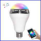 스피커를 가진 지능적인 LED 전구 램프