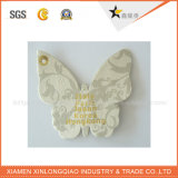 Etiket van de Sticker van de Druk van het Kledingstuk van de Kleding van de manier hangt het Document Afgedrukte Markering