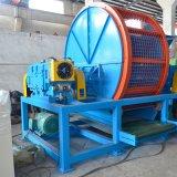 Máquina do triturador do pneumático da sucata para o projeto novo