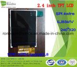"2.4 ""240X320 Spi TFT-LCD-Bildschirm, Ili9341V, 14pin für POS, Türklingel, Medical"