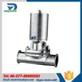 Dn40 мембранный клапан привода фармации Ss316L пневматический