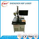 Tipo máquina del vector de grabado incorporada del laser de la fibra del metal 20W de la refrigeración por aire
