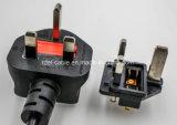 Tipo BRITÁNICO tipo de cable del cable de transmisión BS