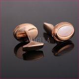 VAGULA Qualität Cuffs Seeshell-Stulpe-Link-Mutterperlen-Hemd-Manschettenknöpfe 52306