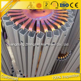 Découpage en aluminium de profil de commande numérique par ordinateur d'usine en aluminium d'extrusion d'ODM d'OEM