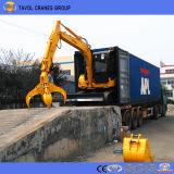Excavador famoso de China de la rueda