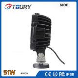 CREE 51W LED Trackor, das helle Arbeits-Lampe für Automobil-LKW bearbeitet