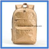 A fábrica faz a Du Pont material novo o saco ocasional de papel da trouxa, saco de ombro dobro de papel prático de pouco peso de Tyvek