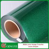 Vinyle de prix usine grand de Qingyi et de transfert thermique de scintillement de qualité pour le vêtement