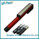 磁気クリップの回転を用いるLEDのペン作業ライト