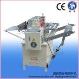 Máquina de cobertura da folha de metal com sistema do desenrolamento