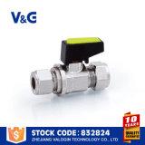 Черный миниый шариковый клапан газа (VG-A61302)