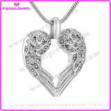 De Halsband van de Manier van de Halsband van de Tegenhanger van de Vrouwen van het Roestvrij staal van het hart (IJD9777)