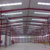 Almacén prefabricado de estructura de acero con alta calidad