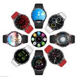 Reloj elegante GPS WiFi de la base 4GB Bluetooth 3G del patio del androide 5.1 para IOS Samsung