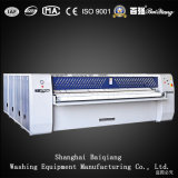 Usage à l'hôpital (3000mm) Machine à laver industrielle Machine à repasser / Groove-Type