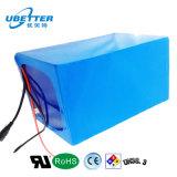 Batterie de la haute énergie LiFePO4 d'Ubetter 72V 12.5ah pour le véhicule électrique