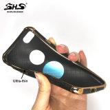 Handy-Fall der Luxury& Form-TPU mit PU-Leder auf der Oberfläche