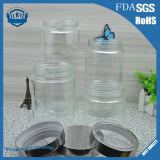 900ml-2264ml Kruik van het Glas van de Opslag van de Mond van de Rang van het voedsel de Transparante, Cilindrische, Brede