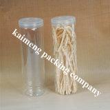 Juego de tubos desechables Cilindro de plástico transparente de PVC
