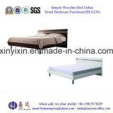 Muebles chinos del dormitorio de los muebles del hotel de los muebles de la base de madera (SH-020#)