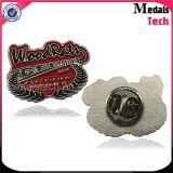Soft Enamel Promotionnel Metal 3D Struck Lapel Pins, Free Artwork Lapel Pins