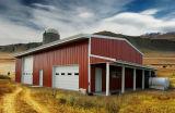 Дешевые напольные стальные сараи фермы сада хранения металла для сбывания