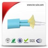 24 Optische Kabel van de Vezel van de Bundel van de Wijze van de kern de Enige Binnen