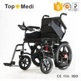 Fauteuil roulant électrique détachable Handicapped de mode d'entraînement de 4 roues pour des personnes âgées