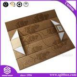 Kundenspezifischer verpackender kosmetisches Geschenk-einfacher faltbarer Papierkasten