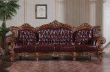 Sofá moderno de la oficina del cuero de los muebles de oficinas de 2 asientos (UL-NS063)