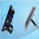 proiettore solare esterno di 10W LED con il sensore di movimento di PIR