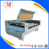 Máquina tecnológica do laser Cutting&Engraving com a estrada de ferro de alta velocidade do guia (JM-1280T-CCD)