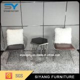 Высокий стул отдыха утюга элегантности типа для случая