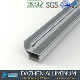 Profil en aluminium d'aperçu gratuit pour le profil de tissu pour rideaux de guichet de l'Algérie