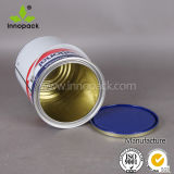 UNO bewertete ringsum 4L gedruckte Lack-Metallblechdose mit Kappe und Griff