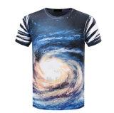 Usine meilleur marché de T-shirt de collet de l'impression O de corps entiers