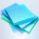 Feuille de toiture de polycarbonate ; Feuille de mur jumelle de polycarbonate