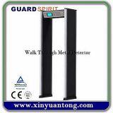 Faltbarer hoher Empfindlichkeits-Türrahmen-Metalldetektor-Verkauf