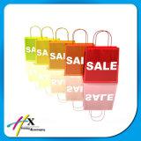 簡単な様式はペーパー布のショッピング・バッグをカスタム設計する
