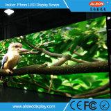 Instalación fija Full Color HD P3 Pantalla LED de interior para TV