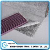 Vêtement Fondre-Soufflé non-tissé matériel de charbon actif de Composited de filtre automatique
