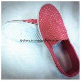 De Schoenen van de Stof van de vrouw met pvc Outsole