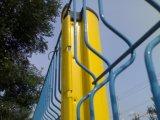 PVCによって塗られる曲げられた3D鋼鉄パネル